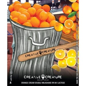 Creative Creature Brewing – Bang the Can Orange Cream IPA