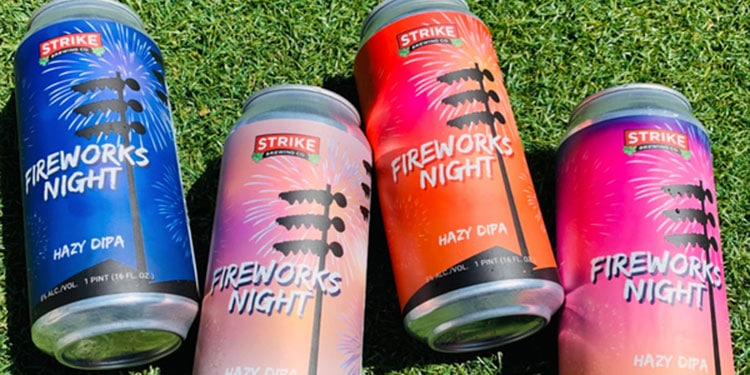 Strike Brewing – Fireworks Night Hazy DIPA