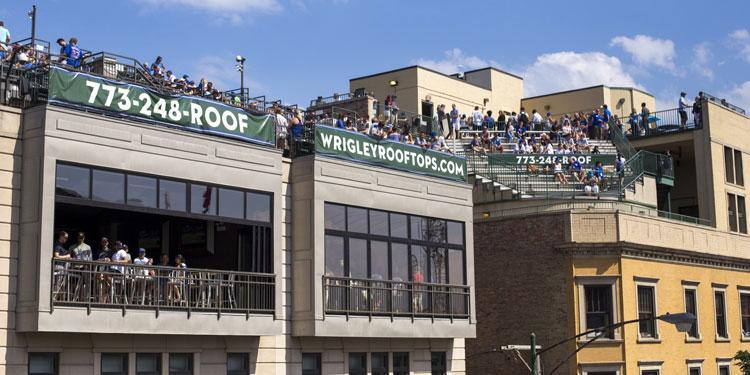 Wrigley Rooftops in Wrigleyville