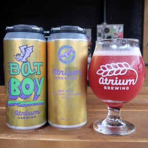 Atrium Brewing – Bat Boy Blackberry Lemonade Sour