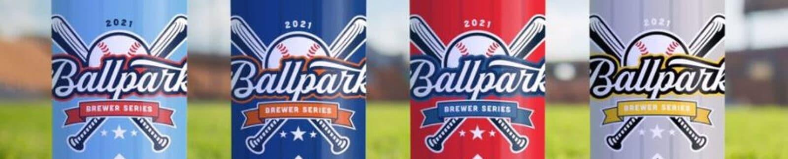 2021 Ballpark Brewer Series Baseball Beers header