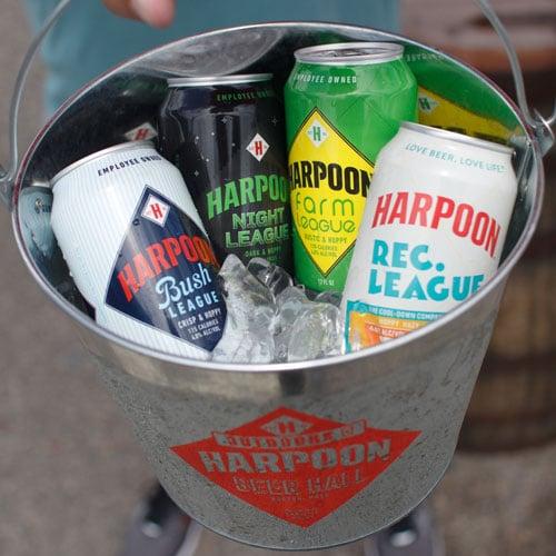 Harpoon Bucket of Beer for Leagues