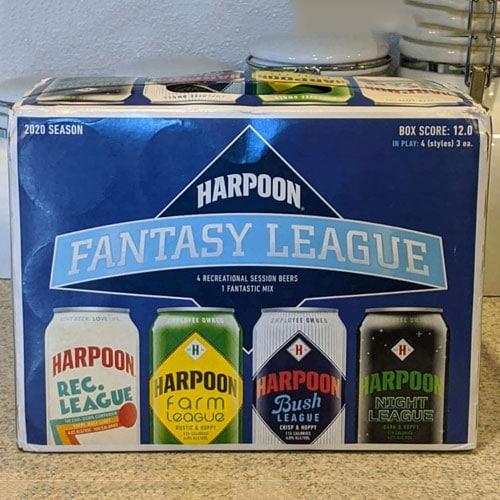 Harpoon Fantasy League Mix Case