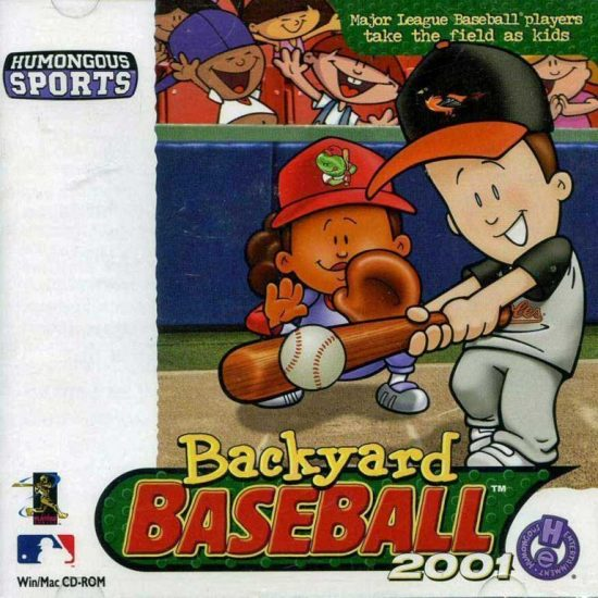 Backyard Baseball, 2001 with Cal Ripken, Jr.