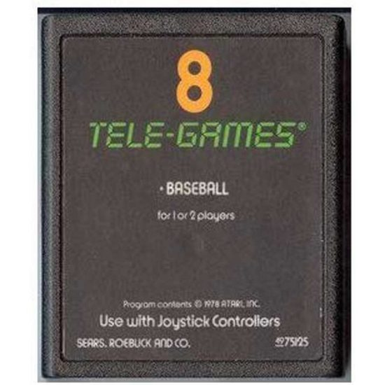 Atari Baseball Cartridge