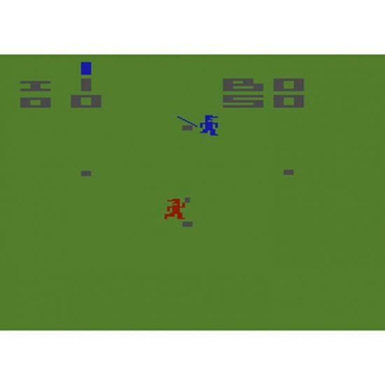 Atari Baseball Screenshot