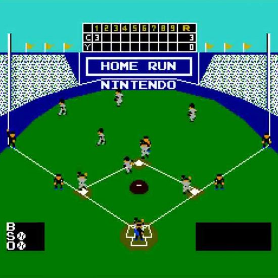 Baseball for Nintendo Screenshot