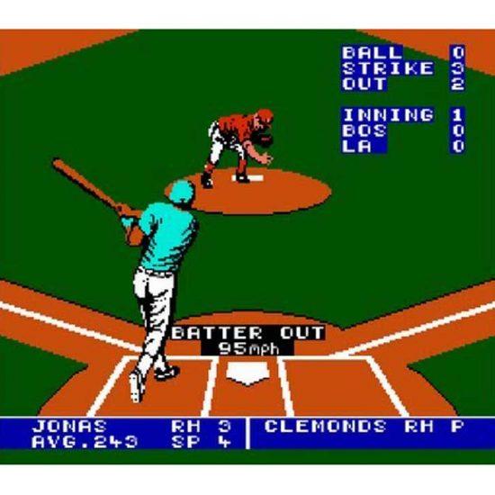 Bo Jackson Baseball Screenshot