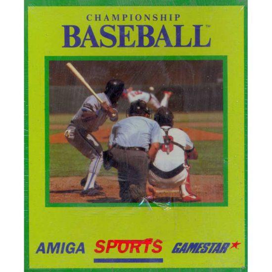 Championship Baseball by Gamestar for Amiga