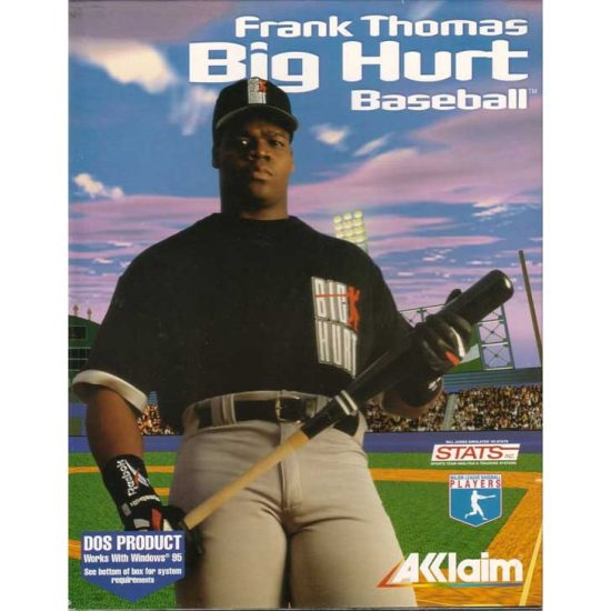 Frank Thomas Big Hurt Baseball 1995