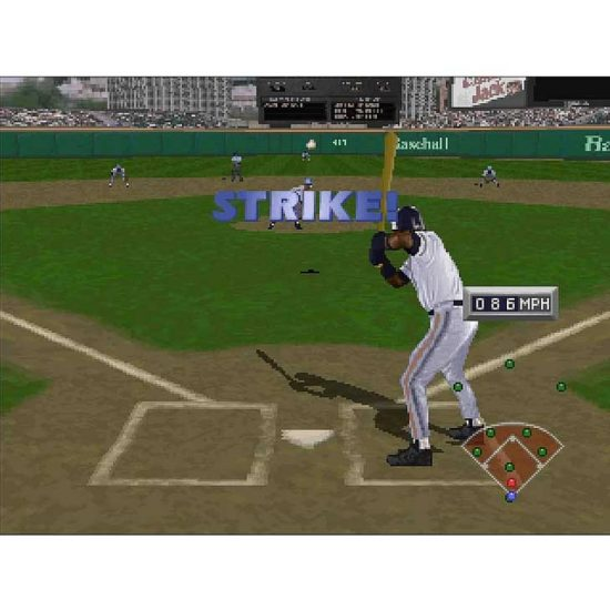 Frank Thomas Big Hurt Baseball Screenshot