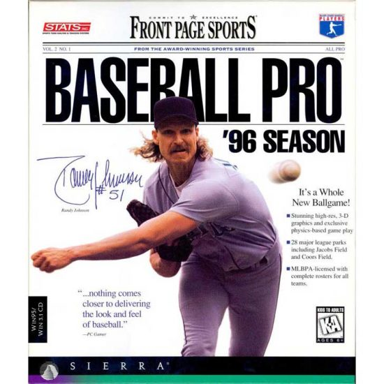 Front Page Sports: Baseball Pro '96