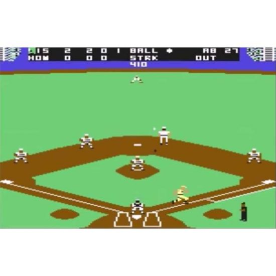 Grand Slam Baseball with Steve Garvey & Jose Canseco Screenshot