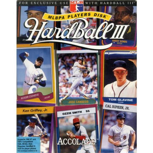 Hardball III MLBPA Players Disk