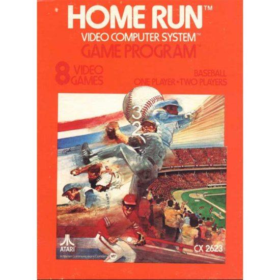 Home Run for Atari (8 games)