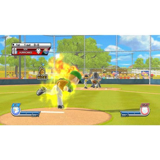 Little League Baseball: World Series screenshot flamethrowing