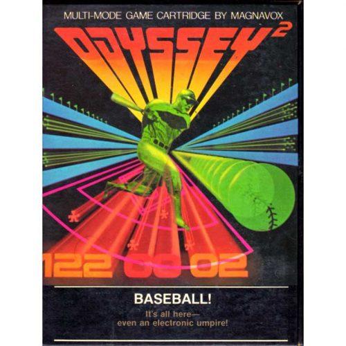 Magnavox Odyssey² Baseball
