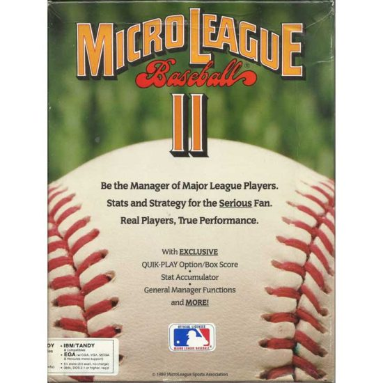 MicroLeague Baseball II