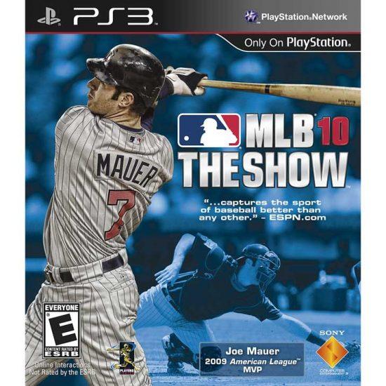 MLB 10: The Show with Joe Mauer