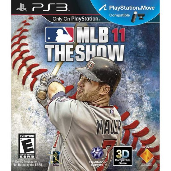 MLB 11: The Show with Joe Mauer
