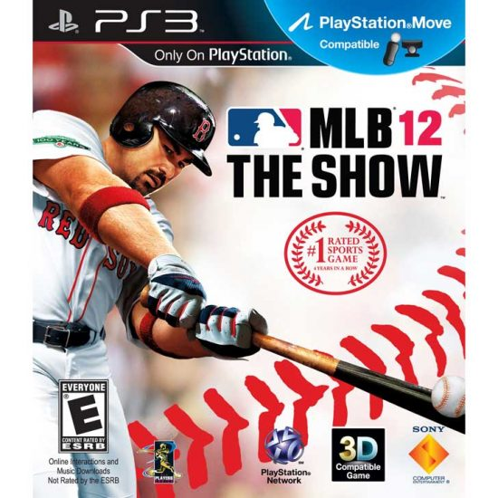 MLB 12: The Show with Adrian Gonzalez