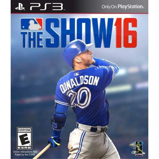 MLB 16: The Show with Josh Donaldson