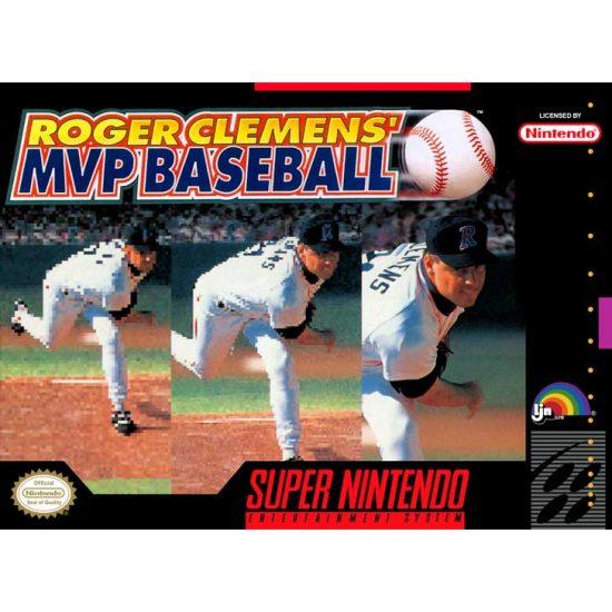 Roger Clemens' MVP Baseball (1992, Super Nintendo)