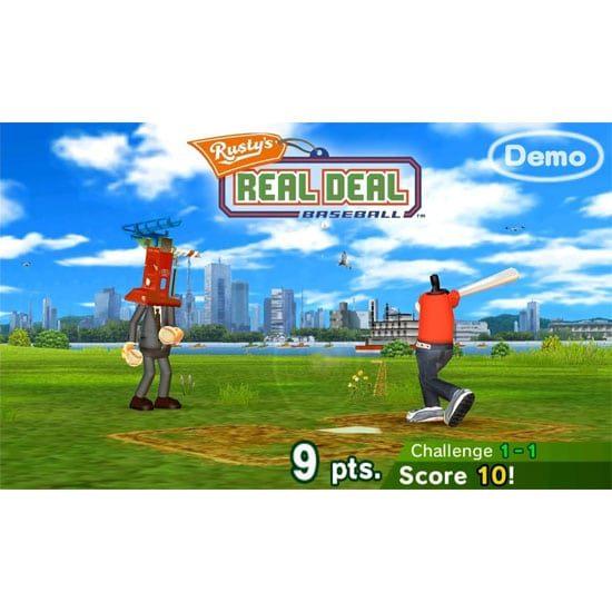 Rusty's Real Deal Baseball demo screenshot