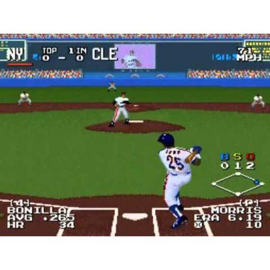 The Sporting News Baseball (1995 screenshot)