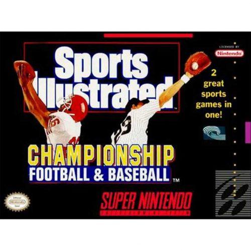 Sports Illustrated Championship Football & Baseball (SNES)