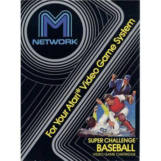 Super Challenge Baseball for Atari