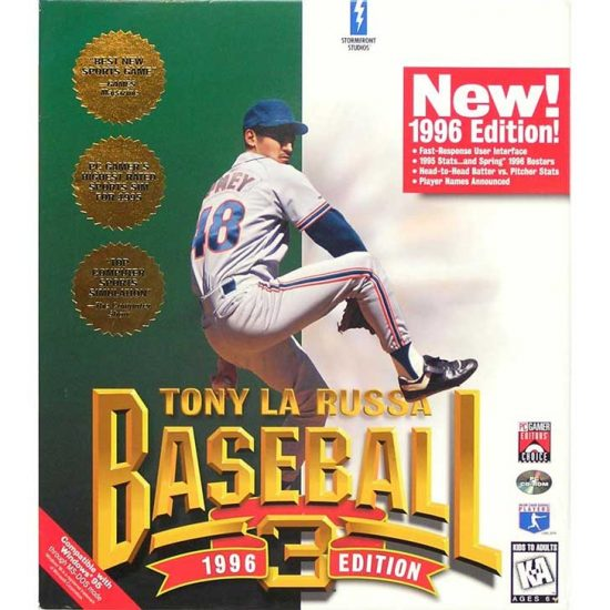 Tony La Russa Baseball 3 (1996)