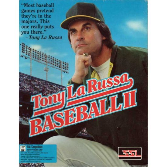 Tony La Russa Baseball II (1993)
