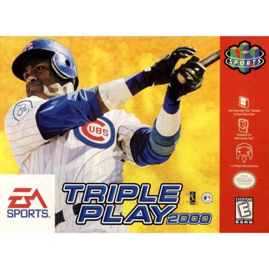 Triple Play 2000 (1999) featuring Sammy Sosa