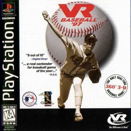 VR Baseball 97 featuring Greg Maddux
