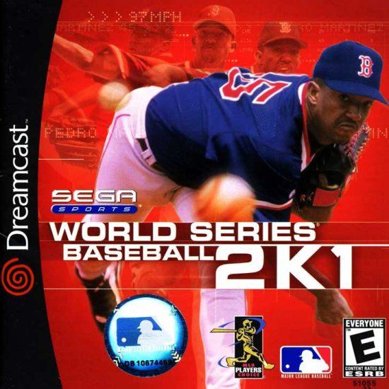 World Series Baseball 2K1 featuring Pedro Martinez